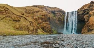 que faire en islande cascade skogafoss