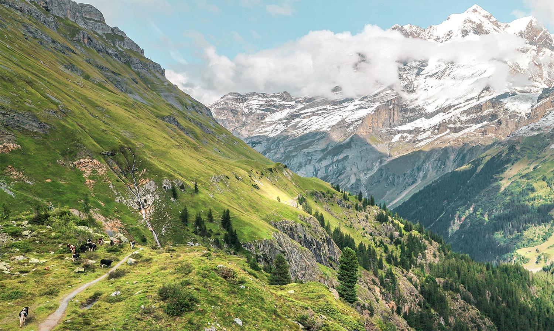 randonnée respect environnement suisse nature