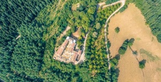 retraite en silence hridaya france drone