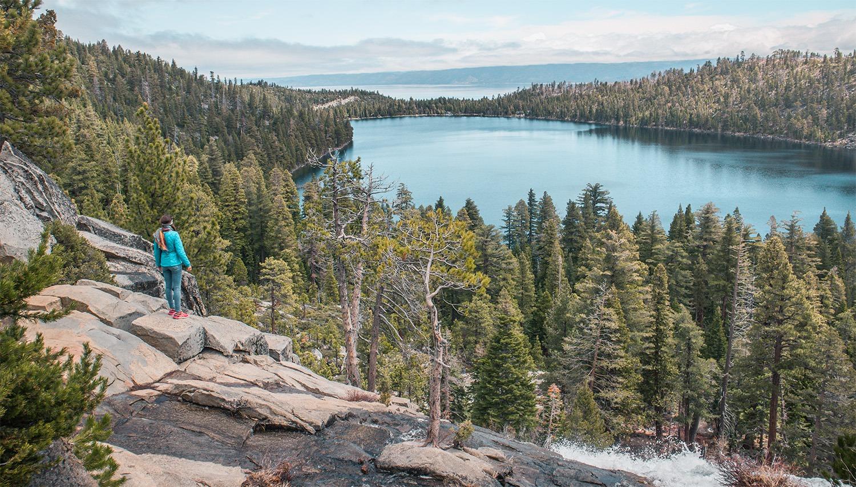 road trip en californie lac tahoe