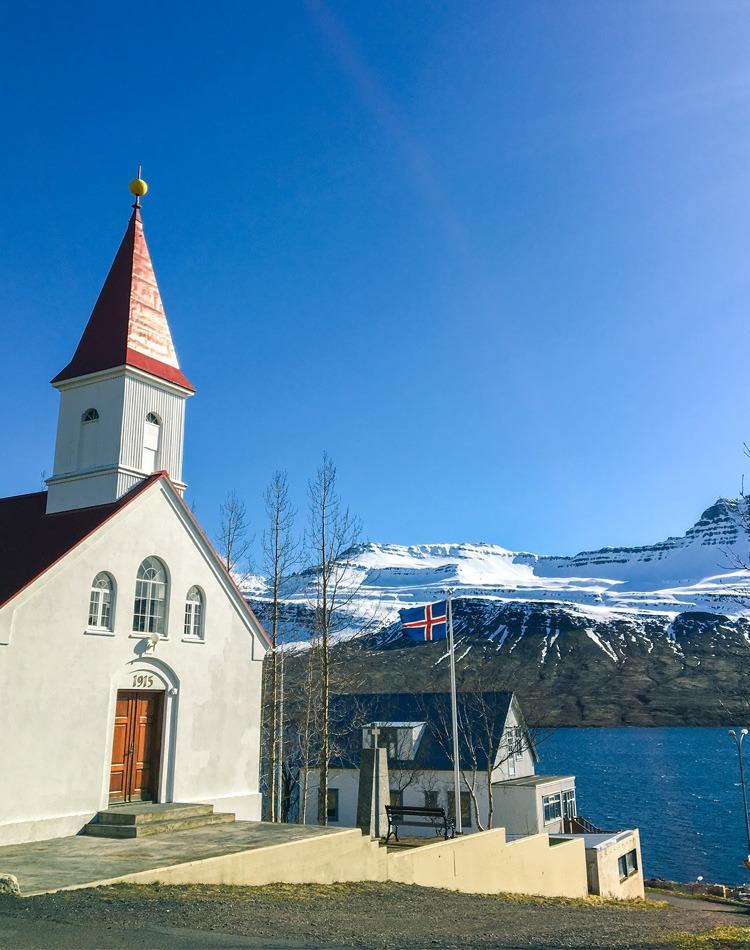 eglise Fáskrúðsfjörður