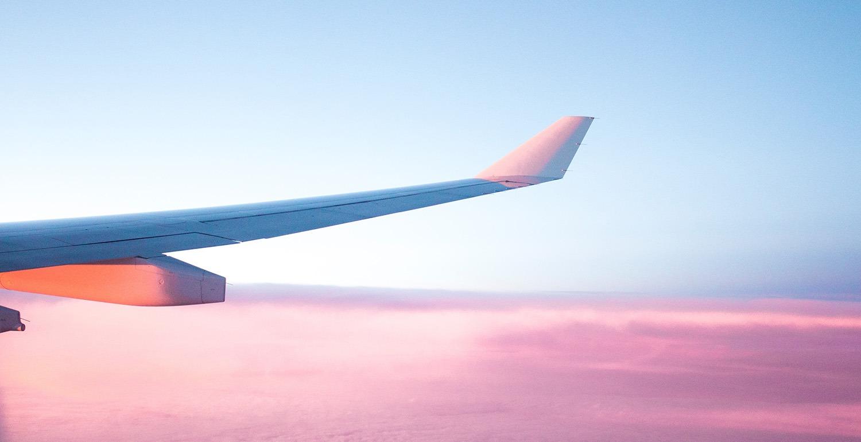 travailler en voyageant avion