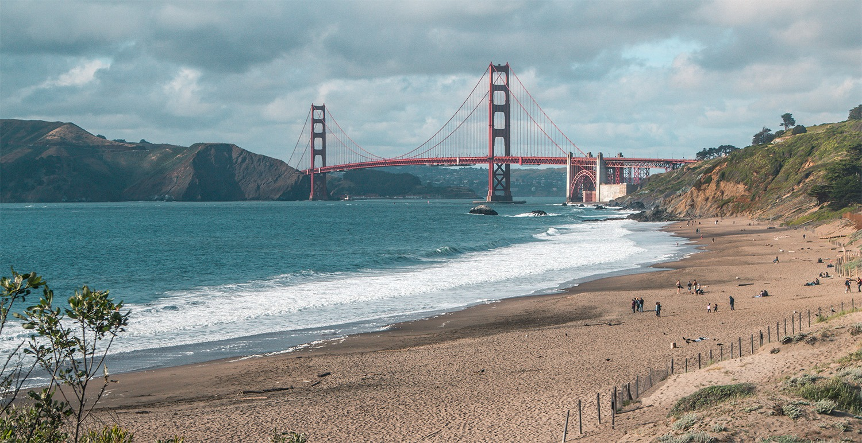 visiter san francisco baker beach golden gate