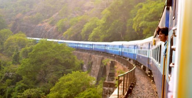 voyager en train dans le monde